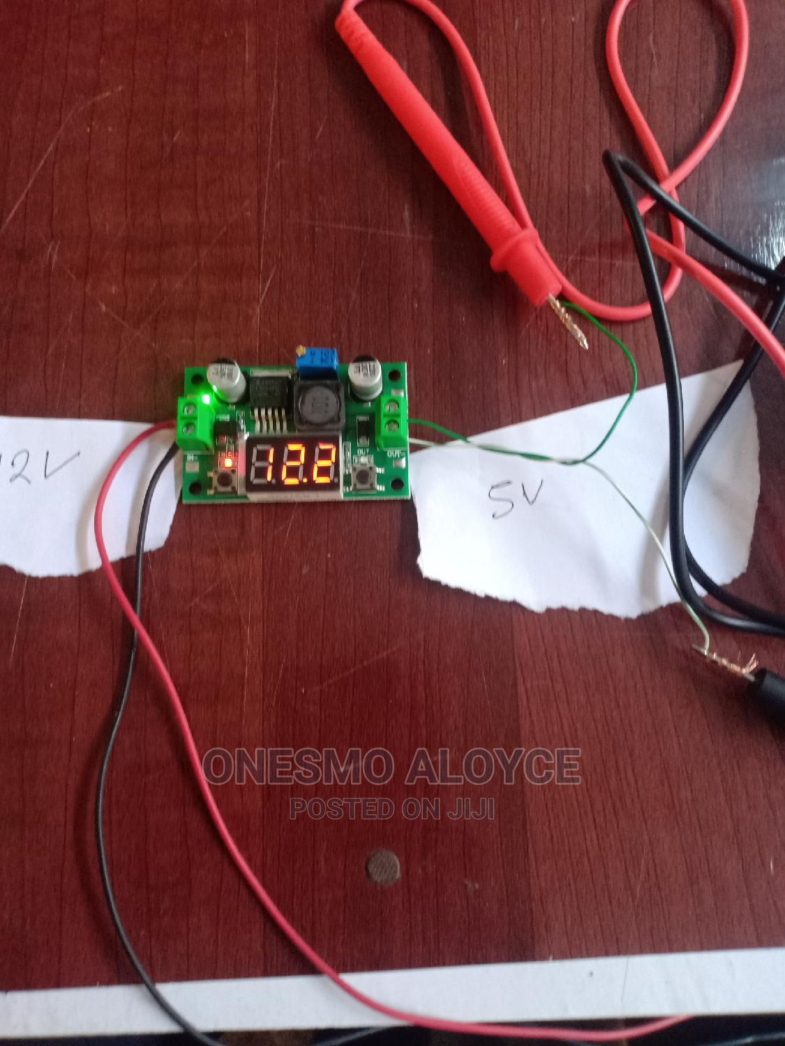 New Original Step Down Voltage,Lcd Display 5v-32v to 2v-30v   Accessories & Supplies for Electronics for sale in Kinondoni, Dar es Salaam, Tanzania
