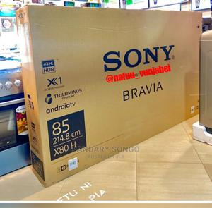 SONY Bravia Smart Android 4K -X80h Inch 85 | TV & DVD Equipment for sale in Dar es Salaam, Ilala