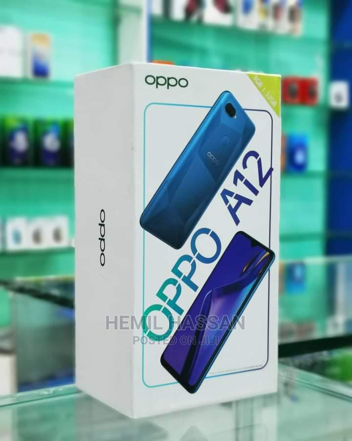 New Oppo A12 32 GB Blue