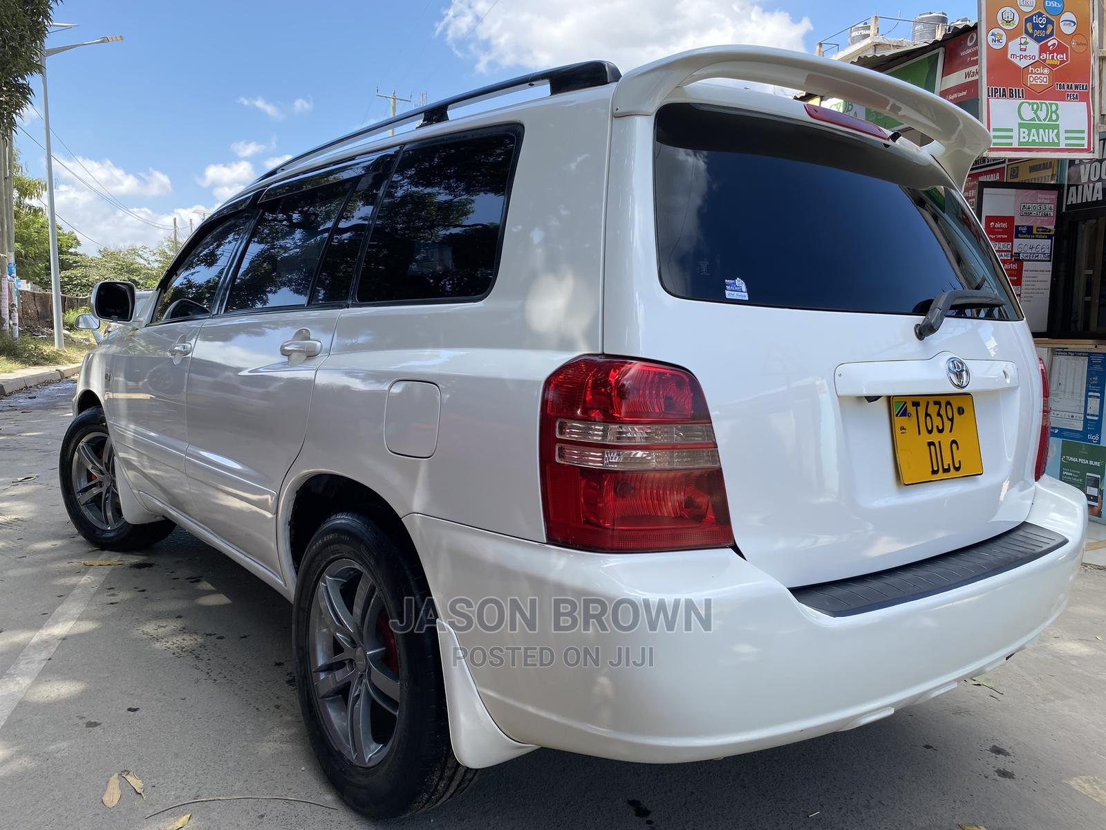 Toyota Kluger 2013 White | Cars for sale in Ilala, Dar es Salaam, Tanzania