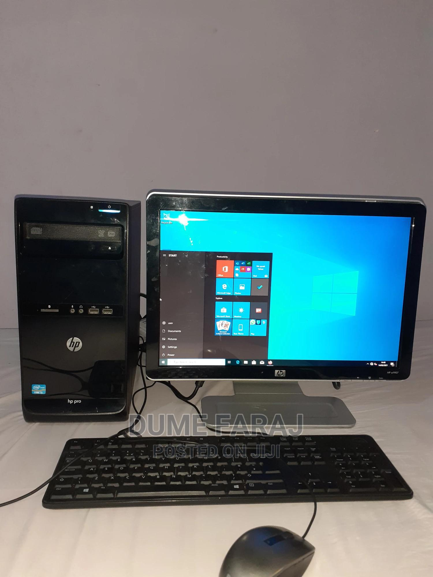Archive: Desktop Computer HP ProDesk 400 4GB Intel Core I3 HDD 500GB