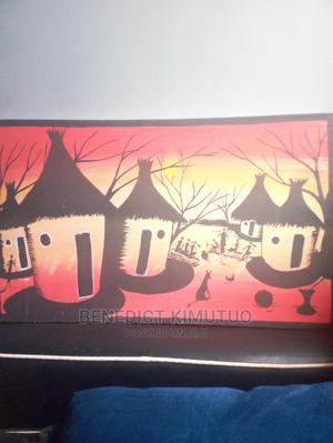 Maasai Huts Wallpaper | Arts & Crafts for sale in Dar es Salaam, Kinondoni