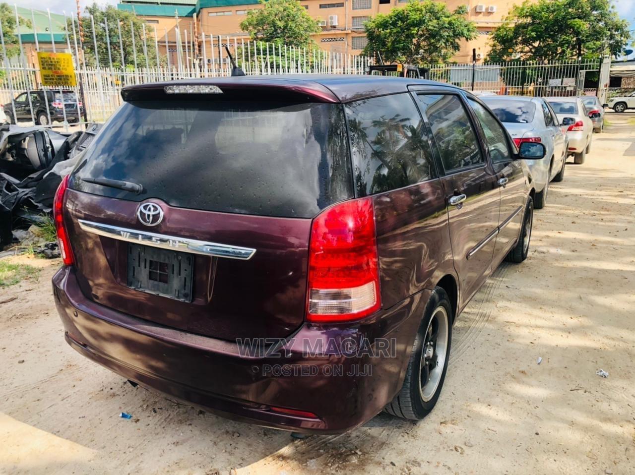 Toyota Wish 2006 Brown   Cars for sale in Kinondoni, Dar es Salaam, Tanzania
