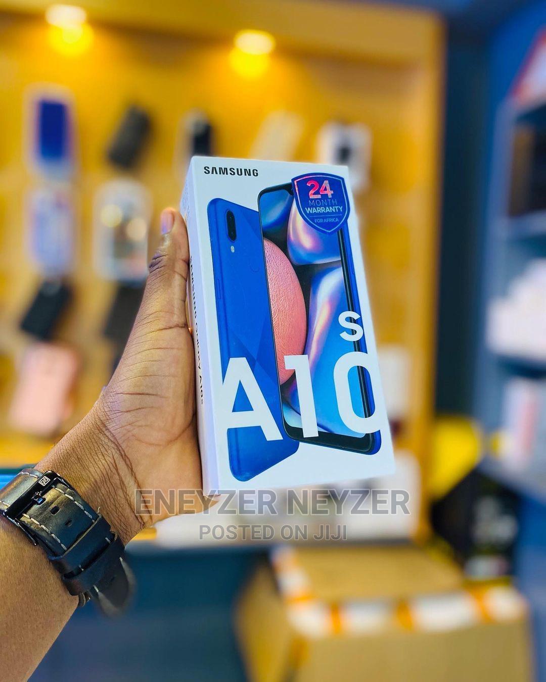 New Samsung Galaxy A10s 32 GB Black