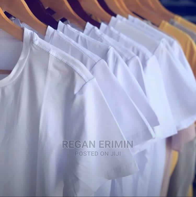 Plain T-Shirts Available in All Size | Clothing for sale in Kinondoni, Dar es Salaam, Tanzania