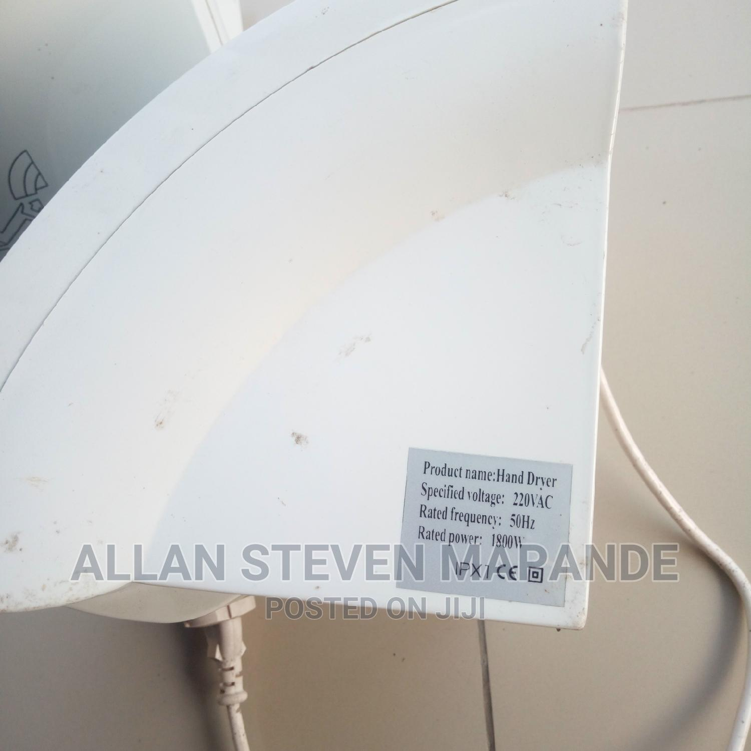 Archive: Atomatic Hand Dryer