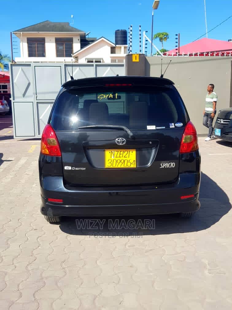 Toyota Corolla Spacio 2003 Black | Cars for sale in Kinondoni, Dar es Salaam, Tanzania