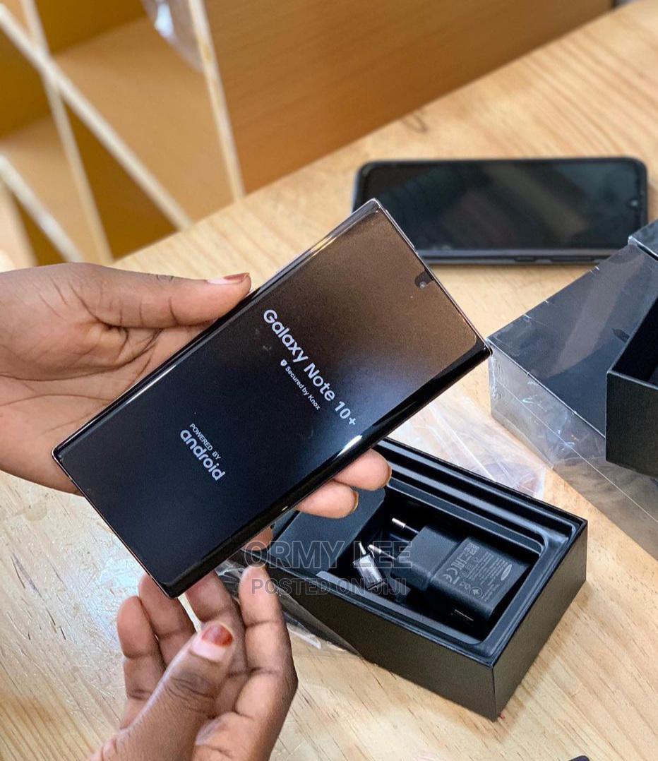 Samsung Galaxy Note 10 Plus 5G 256 GB Silver