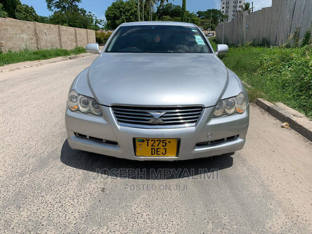 Archive: Toyota Mark X 2002 Silver