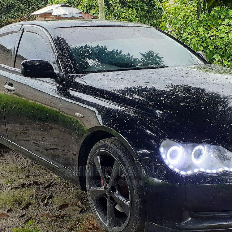 Archive: Toyota Mark X 2005 Black