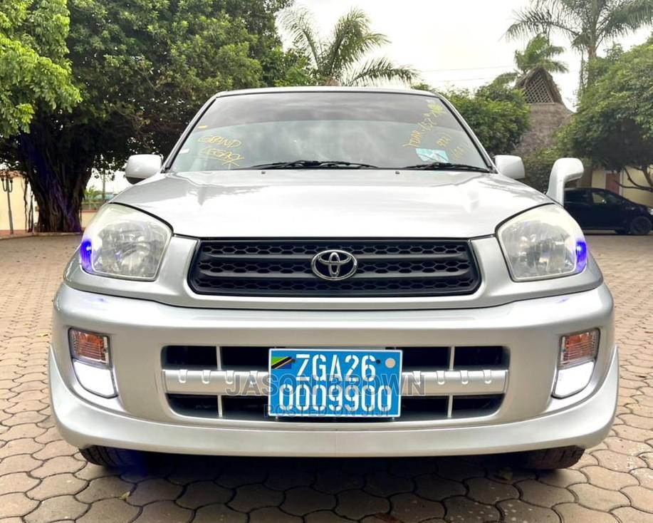 Toyota RAV4 2002 Silver