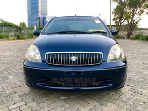 Toyota Vitz 2001 Blue   Cars for sale in Dar es Salaam, Kinondoni