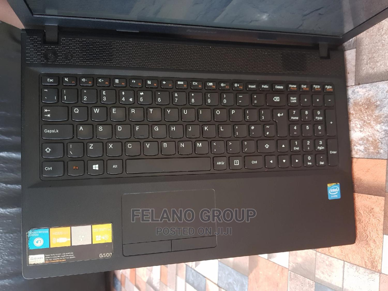 Archive: Laptop Lenovo G500 4GB Intel Celeron HDD 500GB