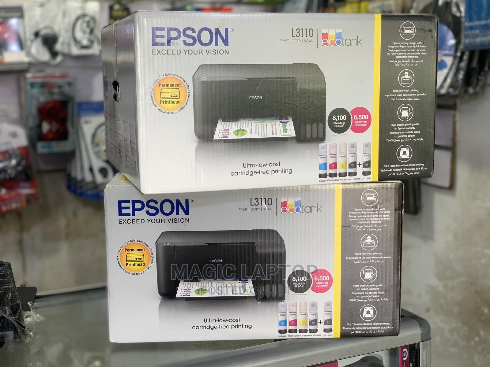 Archive: Epson L3110 Printer