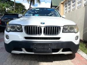 BMW X3 2007 White   Cars for sale in Dar es Salaam, Kinondoni