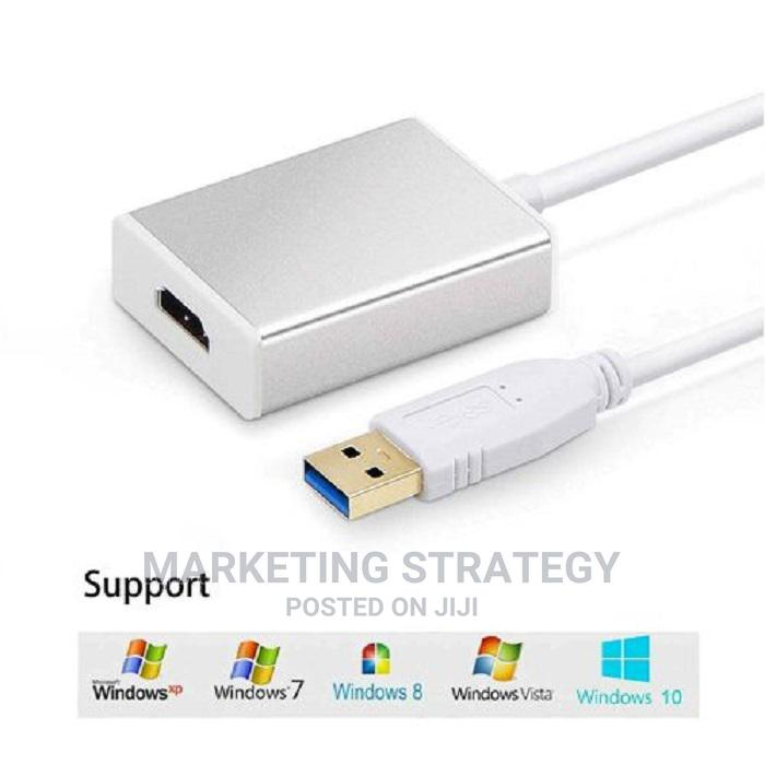 Archive: USB 3.0 to HDMI Video Graphics Adapter With Audio for Multip
