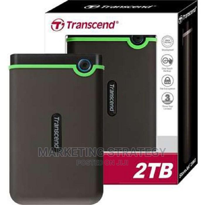 Archive: Transcend Storejet 2TB External Hard Drive