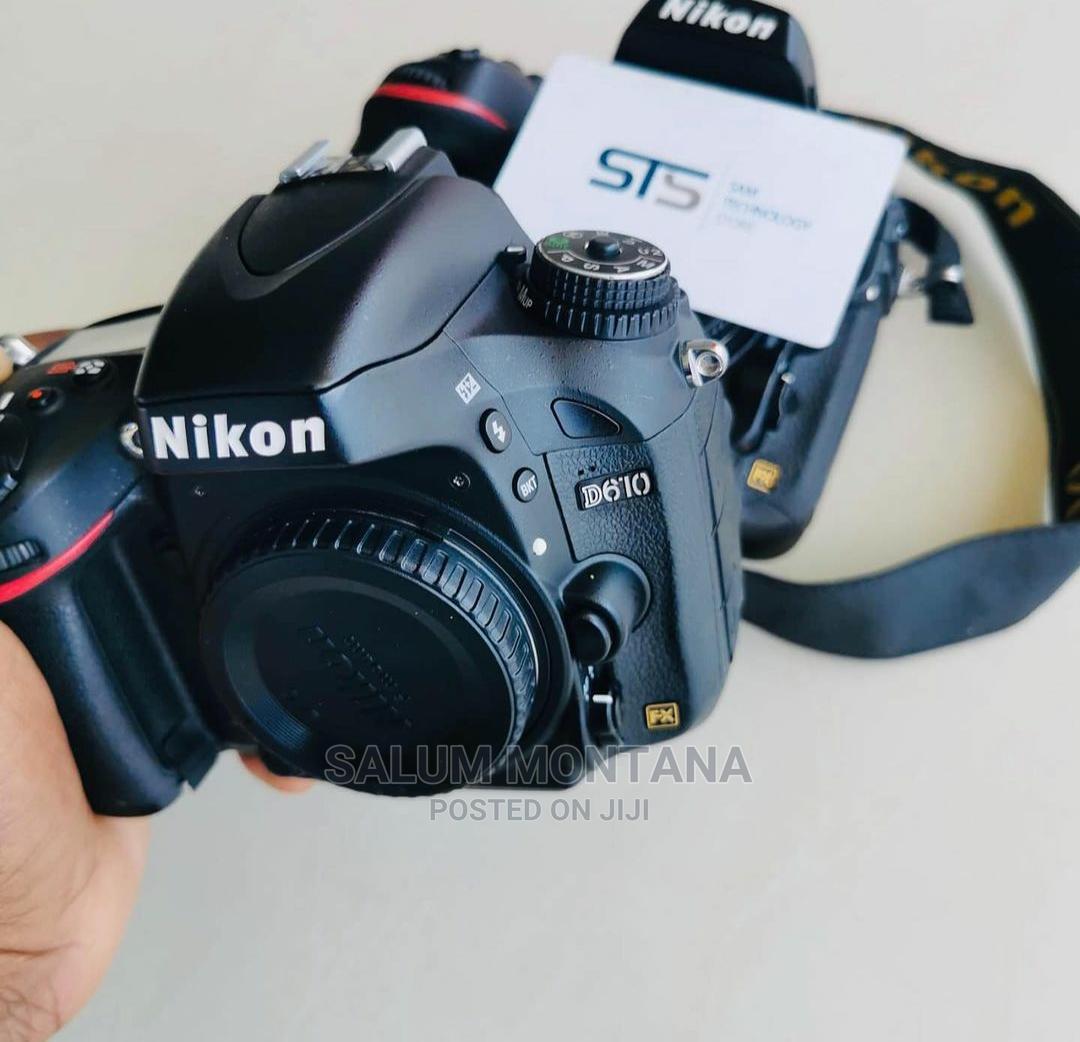Nikon D610 Body   Photo & Video Cameras for sale in Ilala, Dar es Salaam, Tanzania