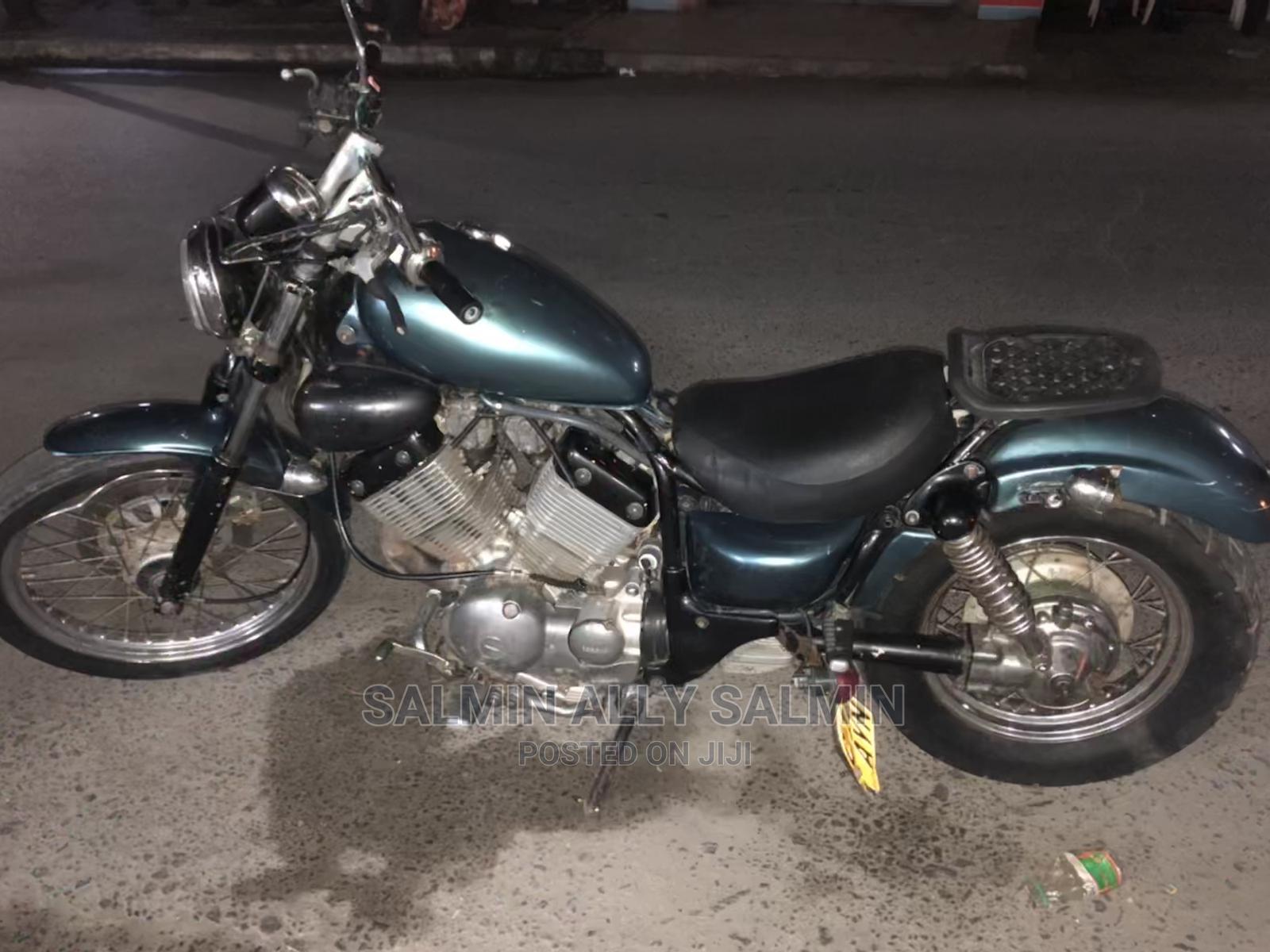 Archive: Yamaha Virago 1989 Green