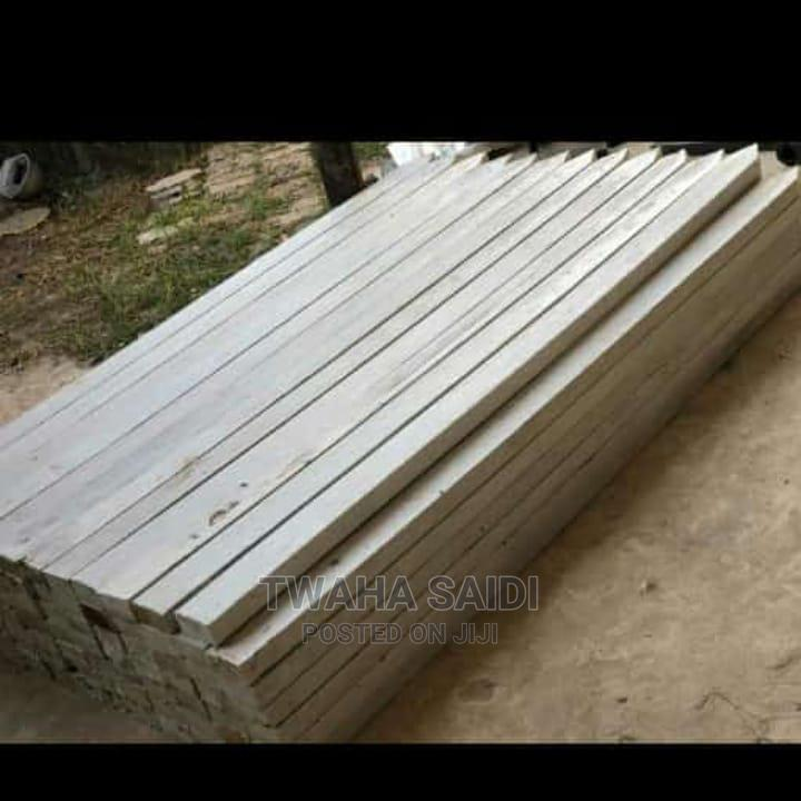 White Plastic Timbers