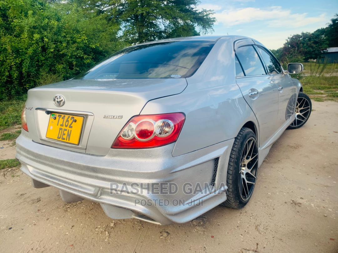Toyota Mark X 2006 Silver | Cars for sale in Kinondoni, Dar es Salaam, Tanzania