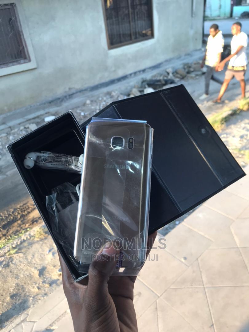 New Samsung Galaxy S7 edge 32 GB Gold   Mobile Phones for sale in Kinondoni, Dar es Salaam, Tanzania