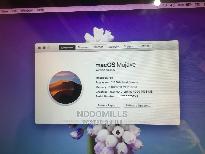 Archive: Laptop Apple MacBook Pro 8GB Intel Core I5 HDD 500GB