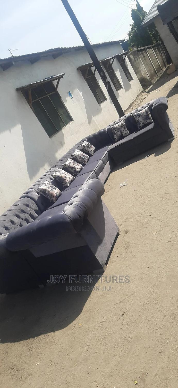 L-Shape Tufted Design | Furniture for sale in Temeke, Dar es Salaam, Tanzania