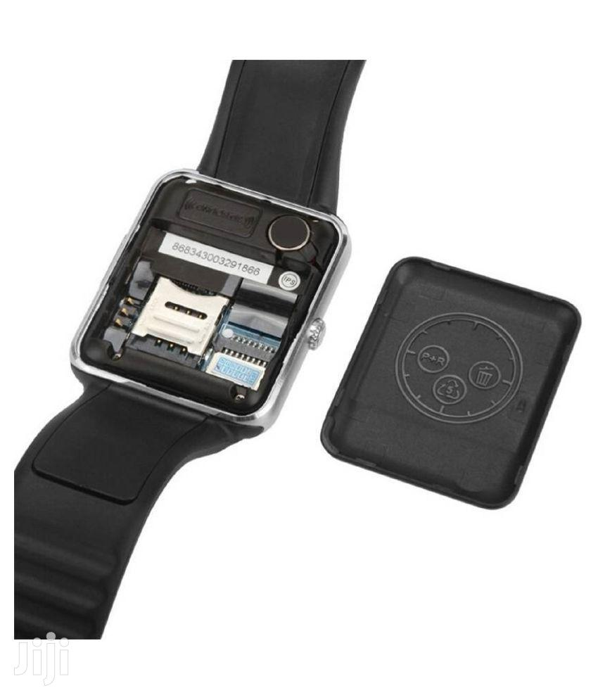 Smart Watch With Memory Card   Smart Watches & Trackers for sale in Kinondoni, Dar es Salaam, Tanzania