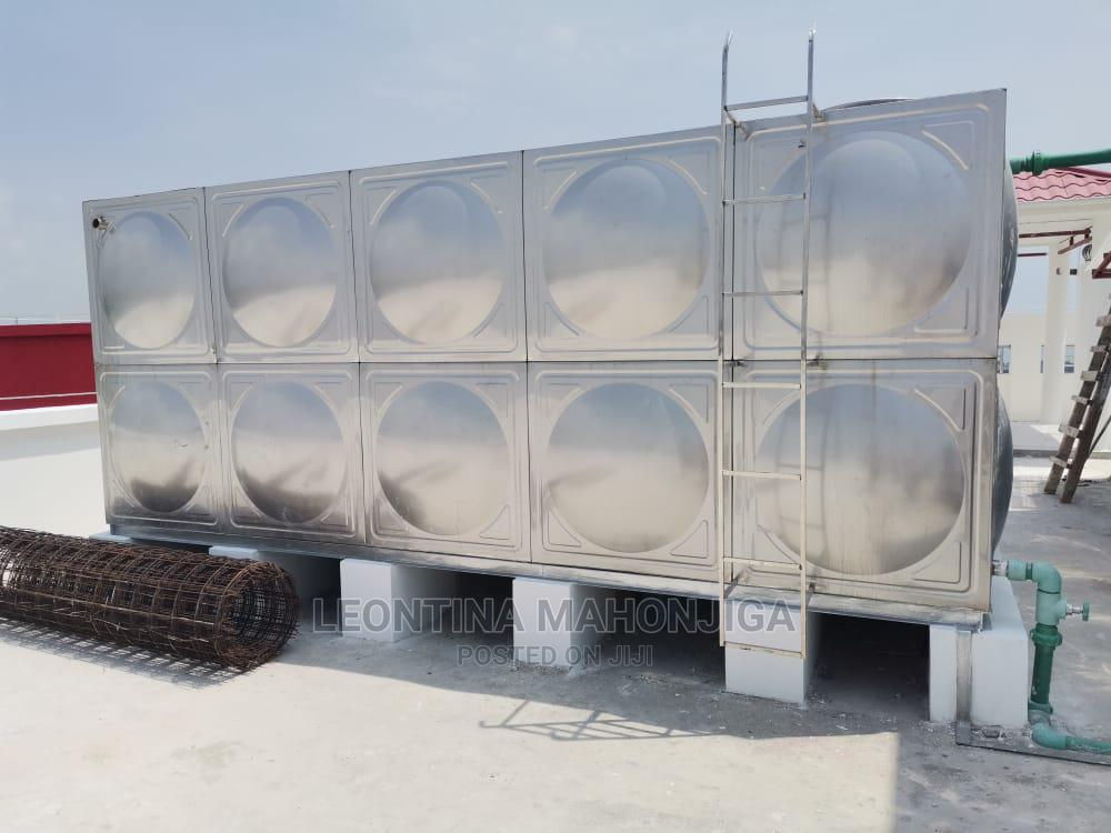 Archive: Stainless Steel Tank Box Shape