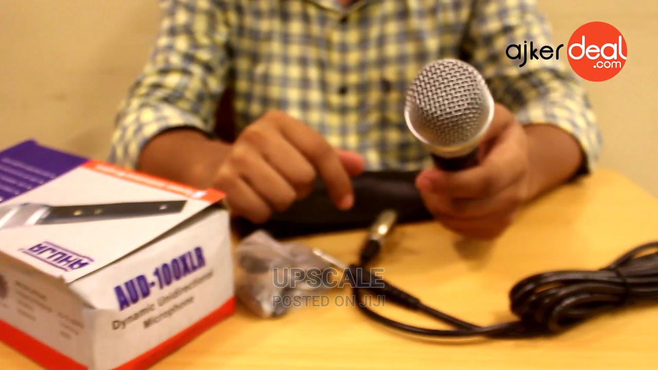 Archive: AUD 100xlr Microphone