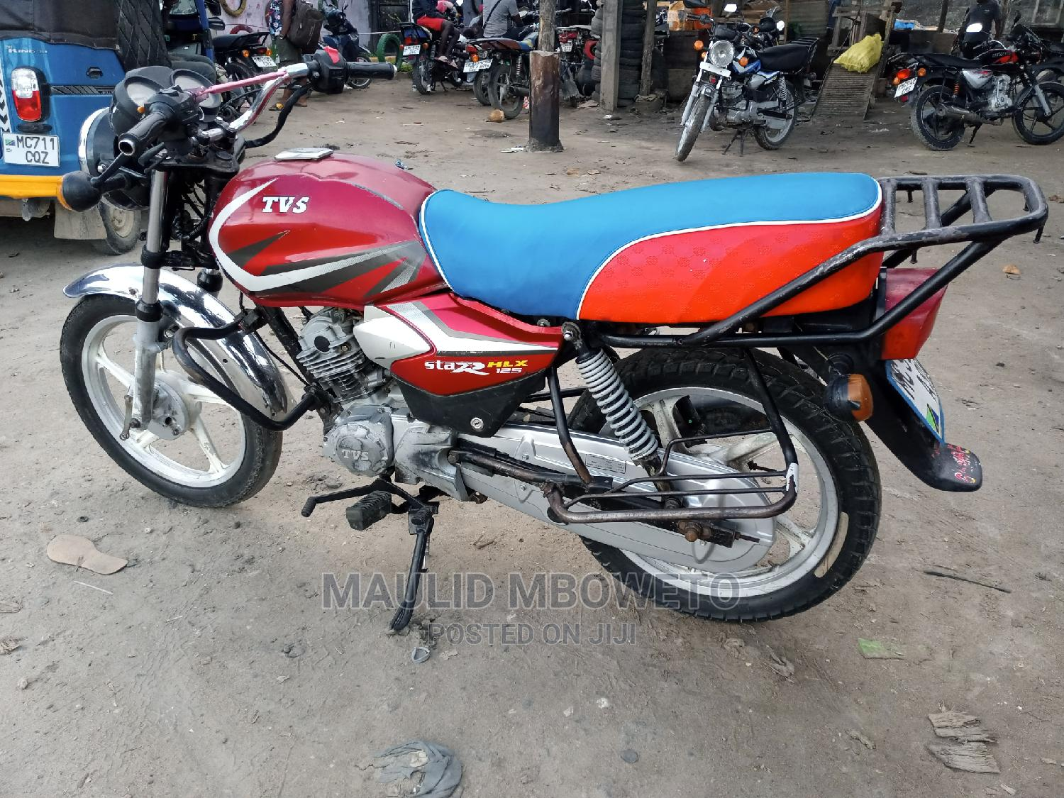 TVS Apache 180 RTR 2017 Red | Motorcycles & Scooters for sale in Temeke, Dar es Salaam, Tanzania