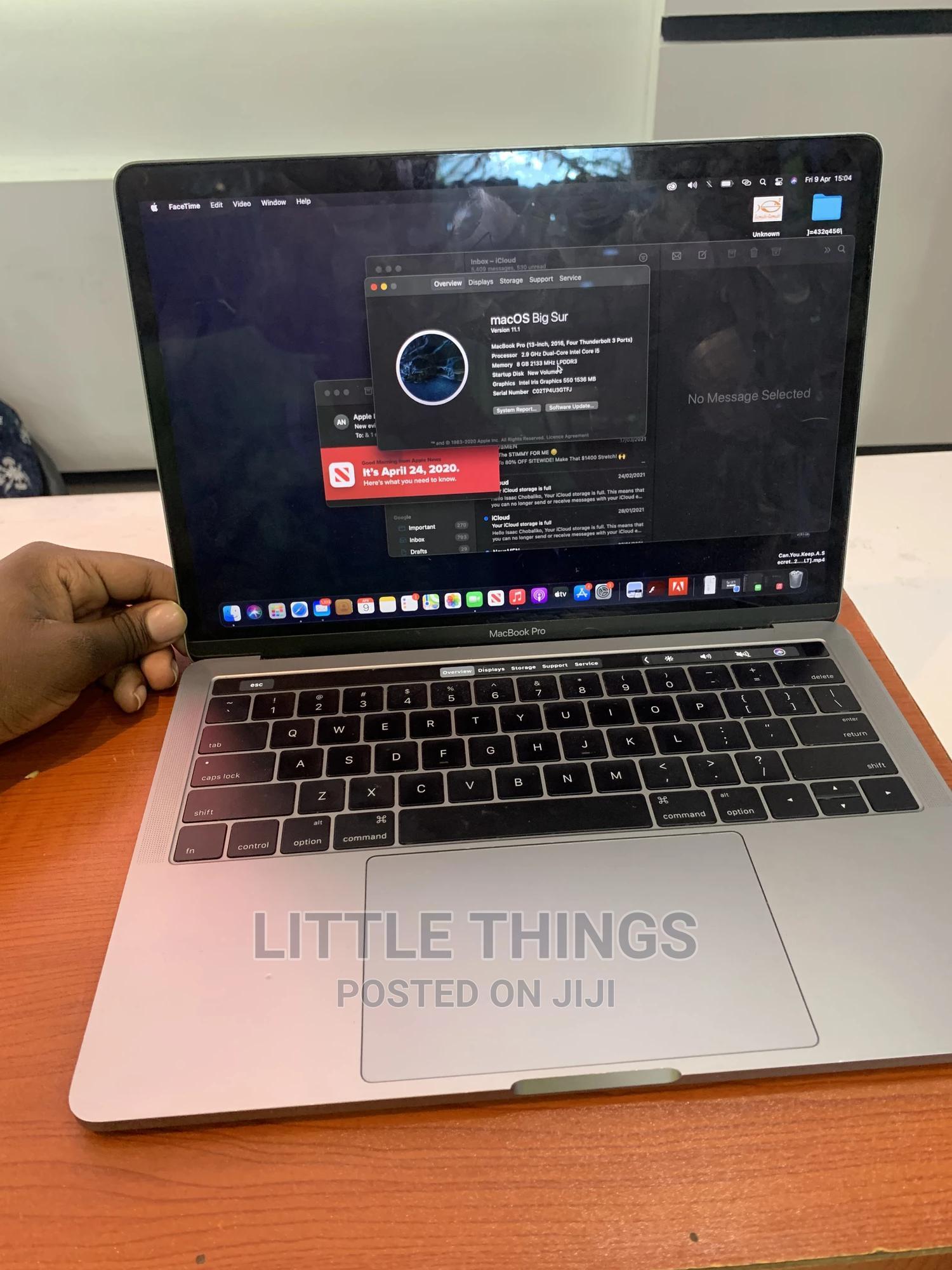 Archive: Laptop Apple MacBook Pro 2016 8GB Intel Core I5 SSHD (Hybrid) 256GB
