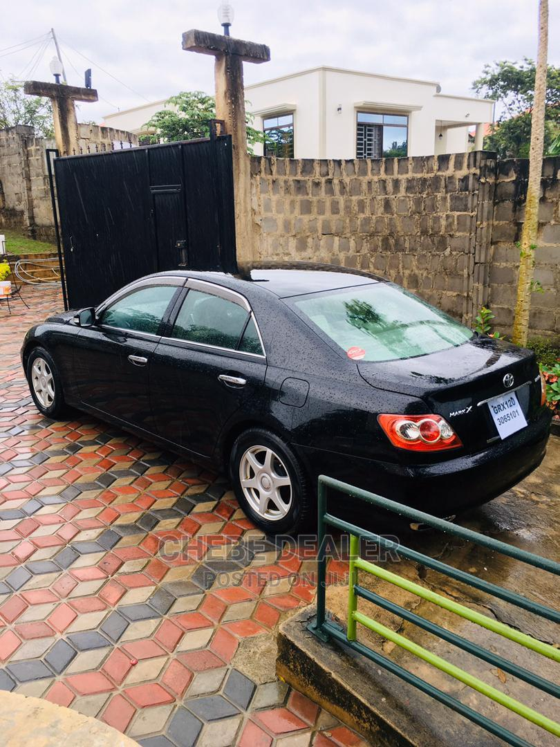 New Toyota Mark X 2006 Black
