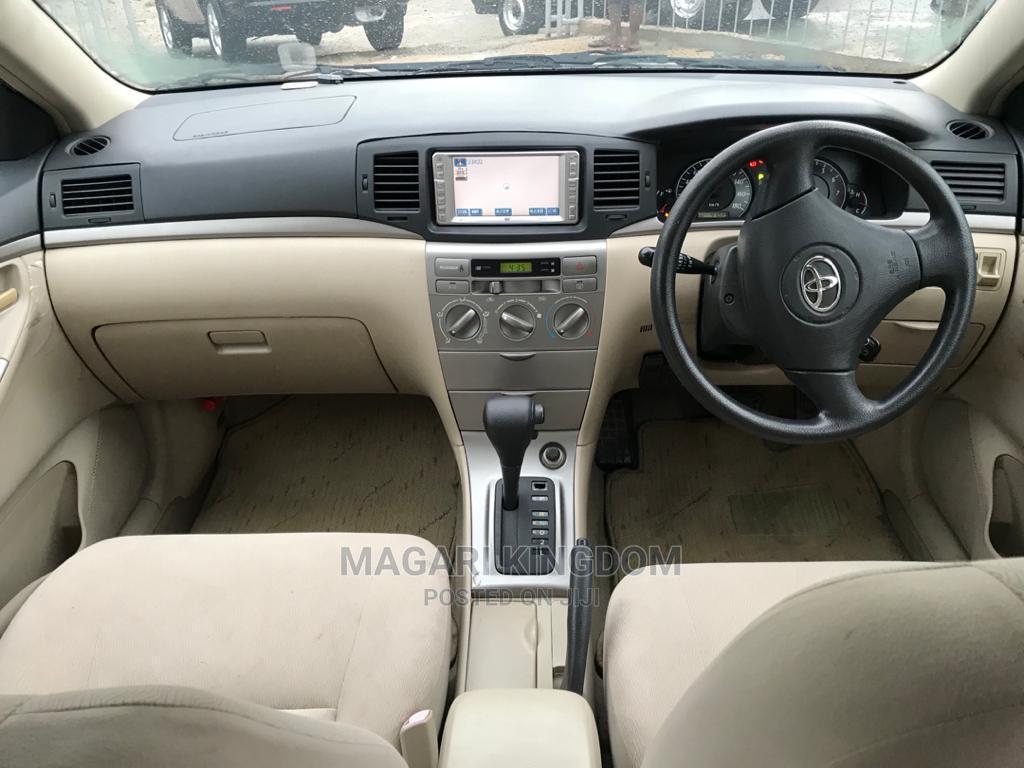 New Toyota Corolla RunX 2002 Silver   Cars for sale in Kinondoni, Dar es Salaam, Tanzania