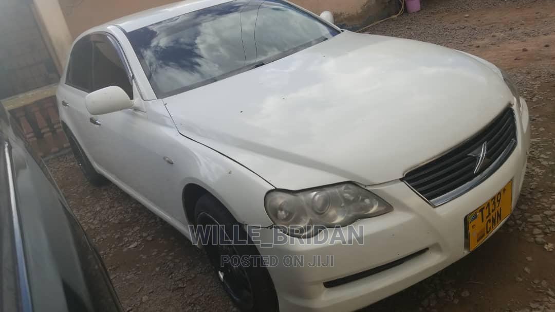 Toyota Mark X 2003 White