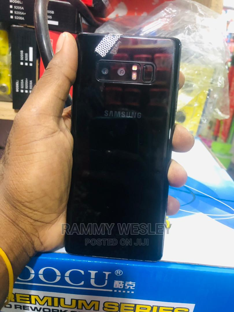 Samsung Galaxy Note 8 64 GB Black | Mobile Phones for sale in Kinondoni, Dar es Salaam, Tanzania
